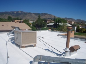 Flat Roof - Energy Saver